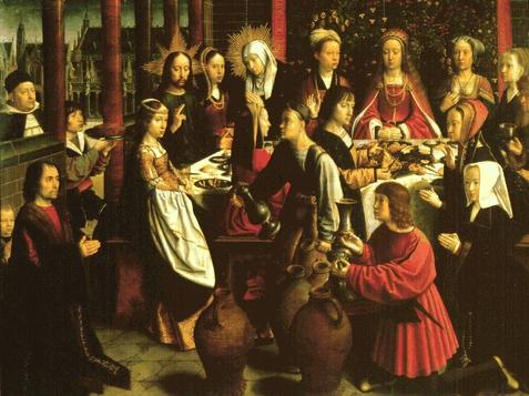 Se celebraron unas bodas en Caná de Galilea, y estaba allí la madre de Jesús. También fueron invitados a la boda Jesús y sus discípulos.